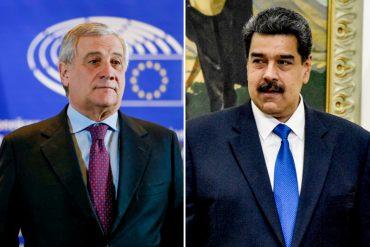 """¡AJÁ, NICO! """"Debemos responder con firmeza"""": La advertencia de Antonio Tajani al régimen de Maduro tras la expulsión de la embajadora de la UE"""