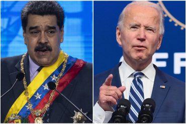 """¡ASÍ LO DIJO! """"Tomaremos medidas"""": la advertencia de un alto funcionario de Biden si el régimen chavista avanza hacia un nuevo proceso electoral no confiable"""