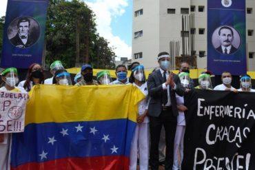 """¡AQUÍ LAS TIENE! """"Exijamos juntos vacunas para todos"""": Guaidó publicó las indicaciones para respaldar la protesta del sector salud este sábado #17Abr"""