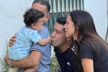 ¡BUENA NOTICIA! El bebé venezolano de 11 meses que quedó huérfano tras accidente de sus padres en Argentina se reencontró con su familia materna