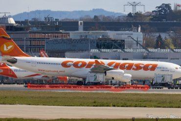 ¡VAYA, VAYA! Avión de Conviasa habría aterrizado en Suiza días antes de que Delcy Rodríguez anunciara el pago a COVAX