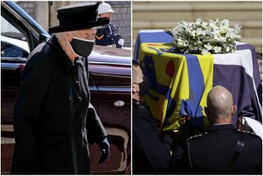 ¡EN DETALLE! En un sobrio funeral la reina Isabel II dará el último adiós a Felipe de Edimburgo: la ceremonia se desarrolla en el castillo de Windsor (+Fotos)
