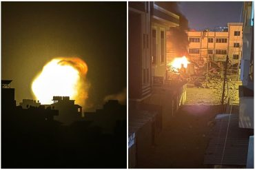 ¡LES MOSTRAMOS! Las impresionantes imágenes del bombardeo israelí a Gaza durante la madrugada del #11May (+Videos y fotos)