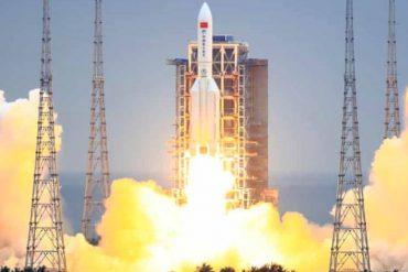 ¡AH, OK! Los restos de cohete chino fuera de control caerán sobre la Tierra en los próximos días: temen que pueda afectar un área poblada (+sitios de probable impacto)